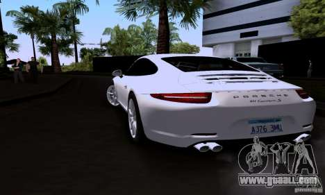 Porsche 911 Carrera S for GTA San Andreas left view