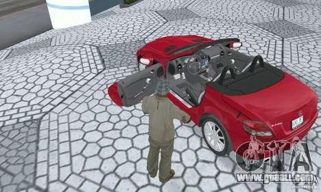 Mercedes-Benz SLK 350 for GTA San Andreas back view