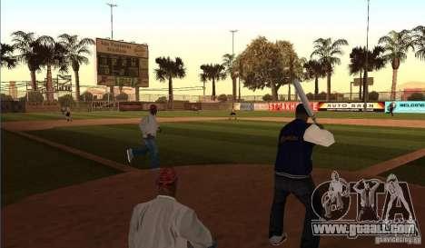 Animated Baseball Field for GTA San Andreas
