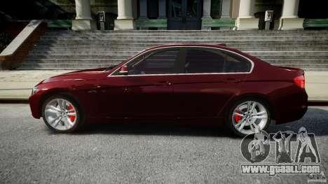 BMW 335i 2013 v1.0 for GTA 4 left view