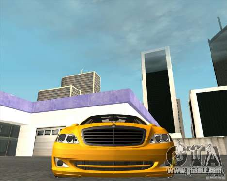Mercedes Benz S600 Panorama by ALM6RFY for GTA San Andreas right view