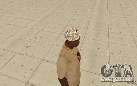Bandana shamal for GTA San Andreas second screenshot