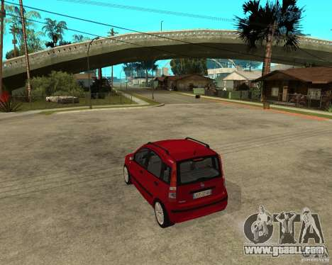 2004 Fiat Panda v.2 for GTA San Andreas left view