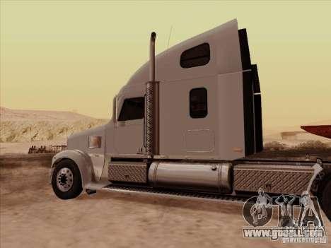 Freightliner Coronado for GTA San Andreas right view