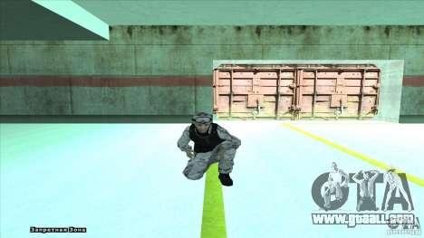 Army Soldier v2 for GTA San Andreas fifth screenshot