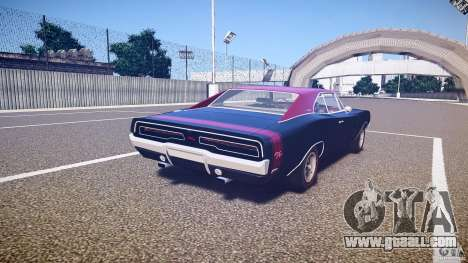 Dodge Charger RT 1969 v1.0 for GTA 4 side view
