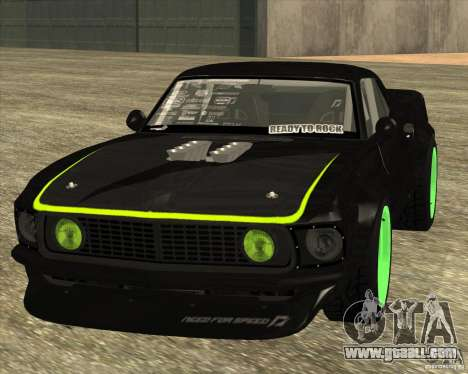 Ford Mustang RTR-X 1969 for GTA San Andreas left view