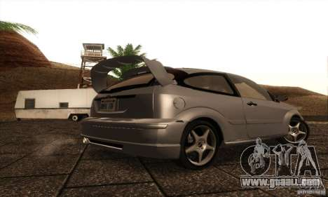 Ford Focus SVT TUNEABLE for GTA San Andreas right view