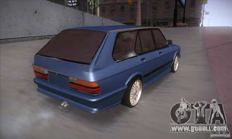BMW E28 Touring for GTA San Andreas back view