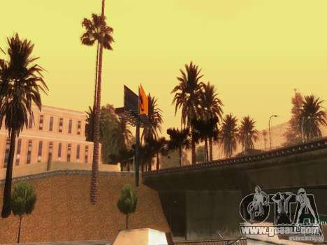 New trees HD for GTA San Andreas seventh screenshot