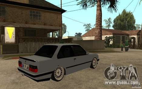 BMW E30 CebeL Tuning for GTA San Andreas right view