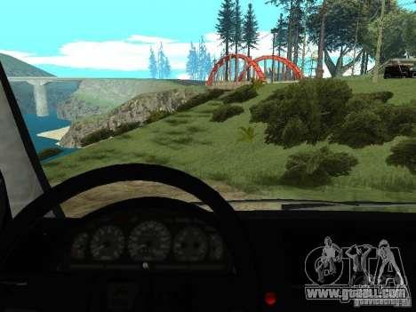 GAZ 2217 FSB for GTA San Andreas back view