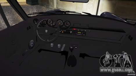 Porsche 911 1987 for GTA 4 inner view