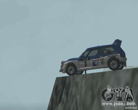 MG Metro 6M4 Group B for GTA San Andreas side view