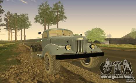 ZIL 164 Tractor for GTA San Andreas left view