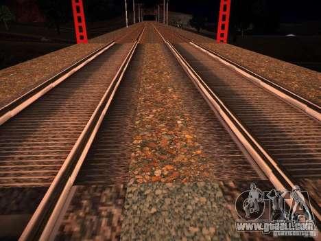 New Rails for GTA San Andreas forth screenshot
