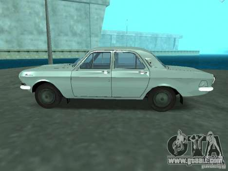 GAS 24 p for GTA San Andreas left view