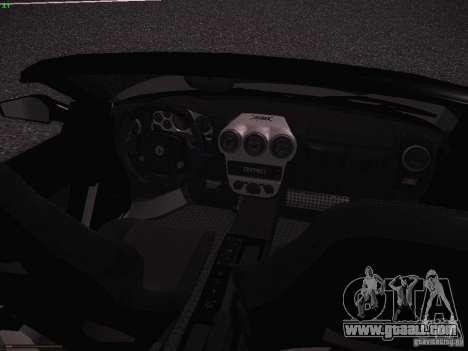 Ferrari F430 Scuderia M16 for GTA San Andreas inner view