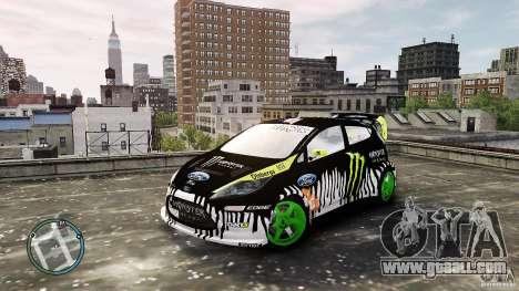 Ken Block Ford Fiesta 2011 for GTA 4