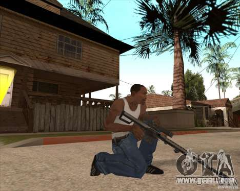 CoD:MW2 weapon pack for GTA San Andreas eleventh screenshot