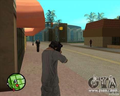 The Ross Rifle for GTA San Andreas third screenshot