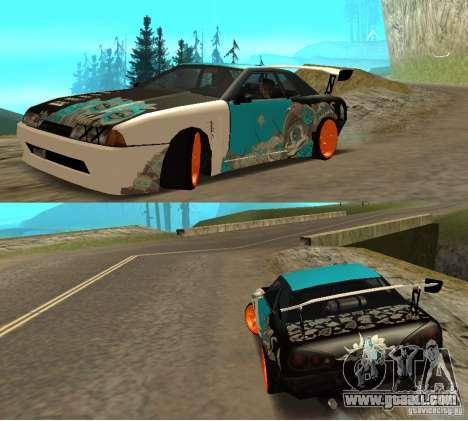 Elegy Nongrata by_k1x for GTA San Andreas
