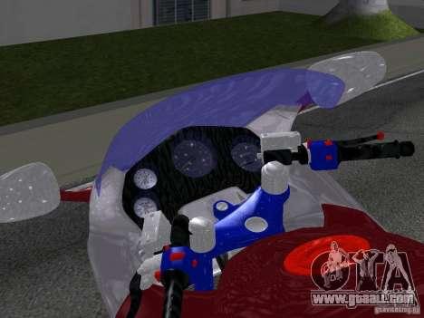 Honda CBR1100XX for GTA San Andreas right view