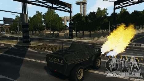 Tank Mod for GTA 4 third screenshot