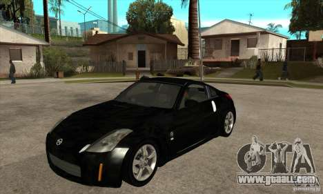 Nissan 350z Stock - Tunable for GTA San Andreas left view