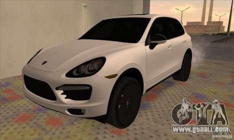 Porsche Cayenne Turbo Black Edition for GTA San Andreas
