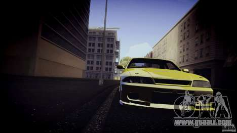 Nissan Skyline GTS R33 for GTA San Andreas left view