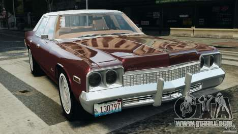 Dodge Monaco 1974 v1.0 for GTA 4