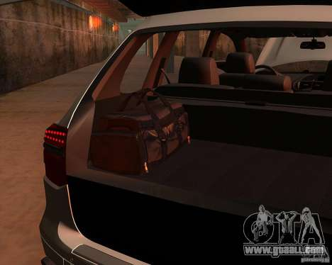 Porsche Cayenne Turbo S for GTA San Andreas back view