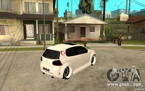 VW Golf 5 GTI Tuning for GTA San Andreas right view