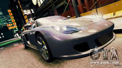 Porsche Carrera GT for GTA 4 back left view