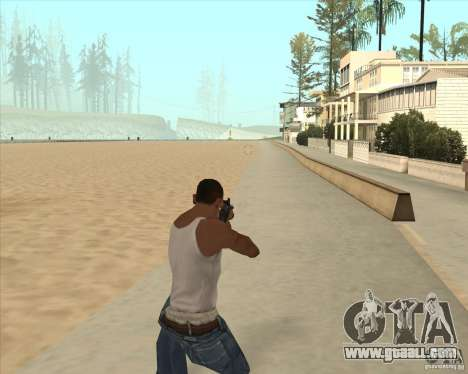 AK-47 HD for GTA San Andreas second screenshot