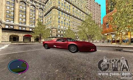 Axis Piranha Version II for GTA San Andreas back view