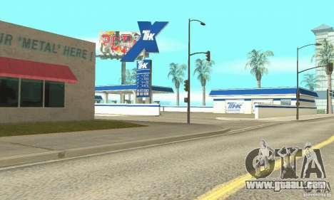 TNK Filling Station for GTA San Andreas