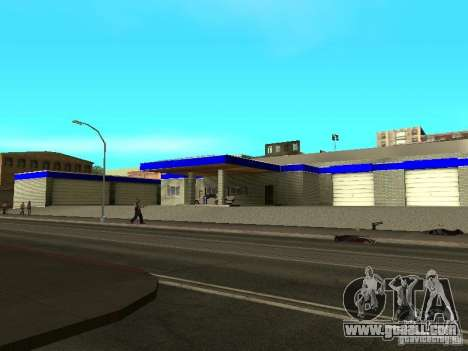 Garage in San Fierro for GTA San Andreas second screenshot