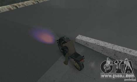 Purple lights for GTA San Andreas second screenshot