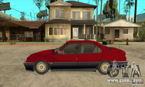 Alfa Romeo 164 for GTA San Andreas left view