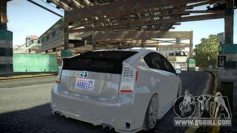 Toyota Prius III for GTA 4 left view
