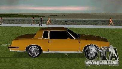 Pontiac Grand Prix for GTA Vice City left view