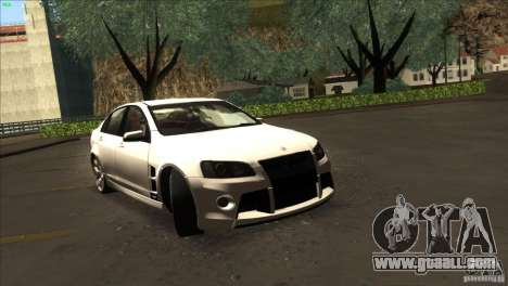 Holden HSV W427 for GTA San Andreas right view