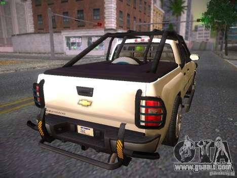 Chevrolet Silverado for GTA San Andreas left view