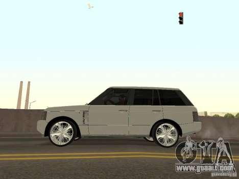 Luxury Wheels Pack for GTA San Andreas sixth screenshot