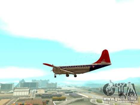 Boeing 377 Stratocruiser for GTA San Andreas