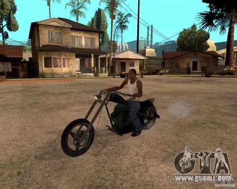 Diabolus Bike for GTA San Andreas left view