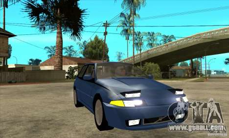 Volvo 480 Turbo for GTA San Andreas back view