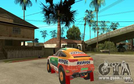 Mitsubishi Racing Lancer for GTA San Andreas back left view